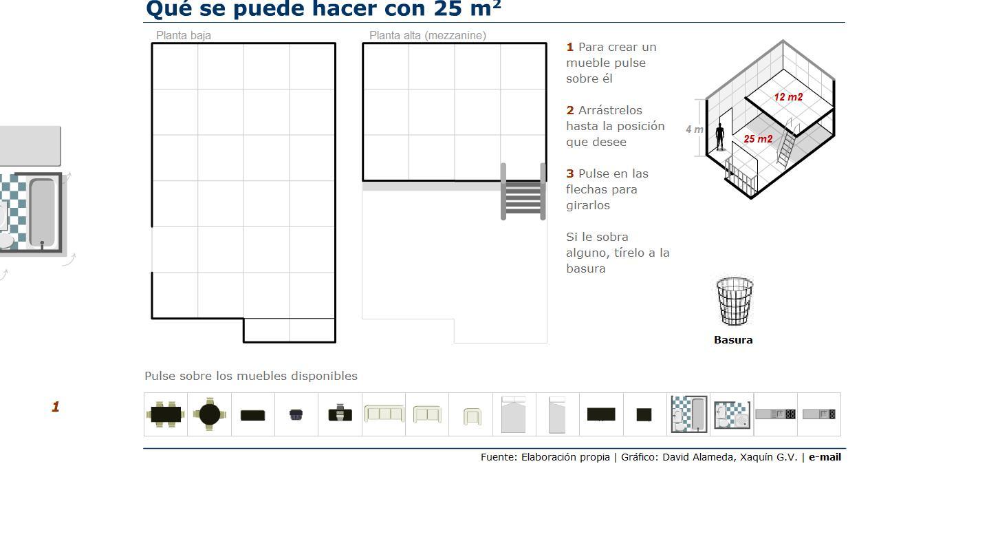 Casas de 25 metros cuadrados recurso educativo 41768 for Vivir en 25 metros cuadrados