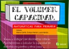 El Volumen | Recurso educativo 43048