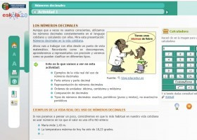Els nombres decimals | Recurso educativo 776566